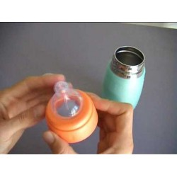 Biberon Safe Starter 150 ml Vert