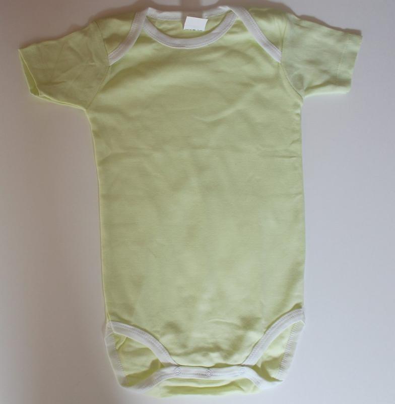 Body uni vert 24 mois