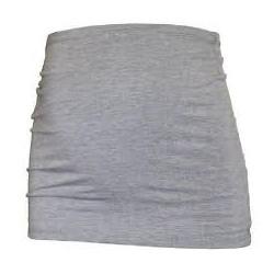 Bandeau de grossesse 'Basic' gris