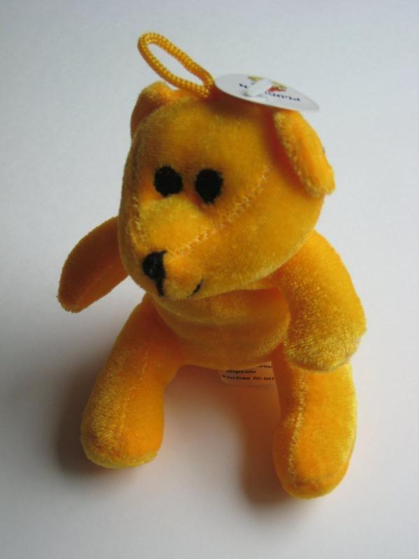 Mon petit ours orange...