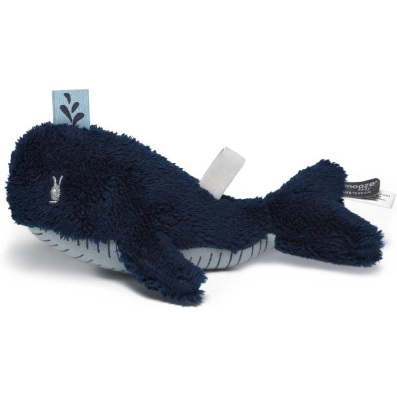 Doudou baleine Wally