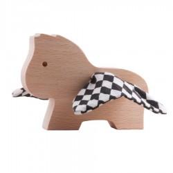 Hochet Cheval Losange en bois