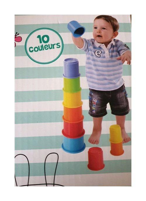 Jouet d'éveil 10 cones...