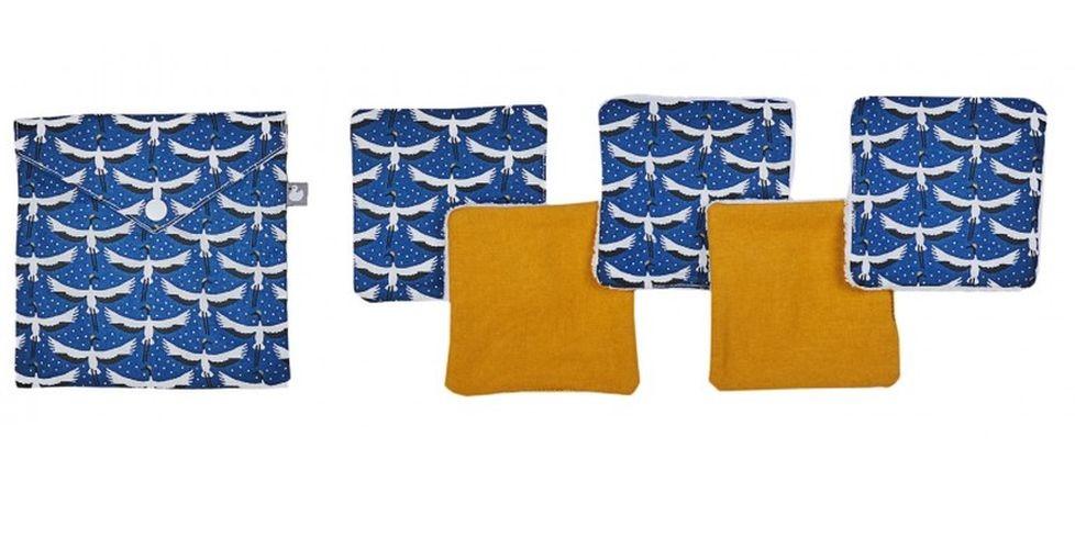 Lingettes lavables par 5