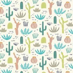 """Gourde souple réutilisable  Modèle """"Desert in Bloom"""""""