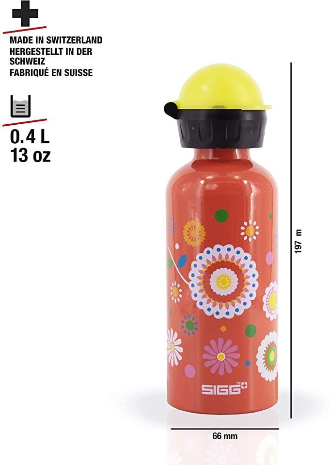 "Gourde 400 ml ""Fleurs"""