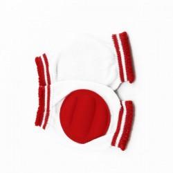 Genouillères pour bébé   rouge
