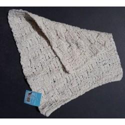 Serviette pour le visage en coton tricoté