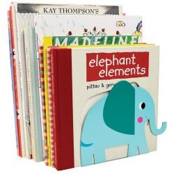 Ensemble de 2 Serres livres Elvis l'Eléphant