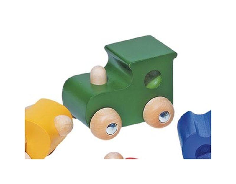 Locomotive verte en bois...