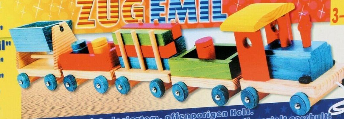 "Train en bois ""Emile"""