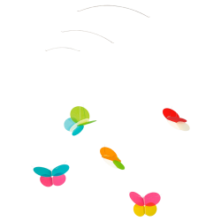 Mobile Papillons (Click-a-Mobile)