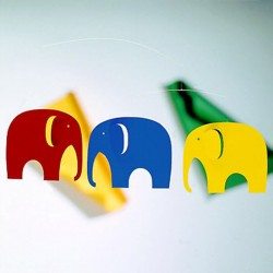 Mobile Flensted Elephant Party