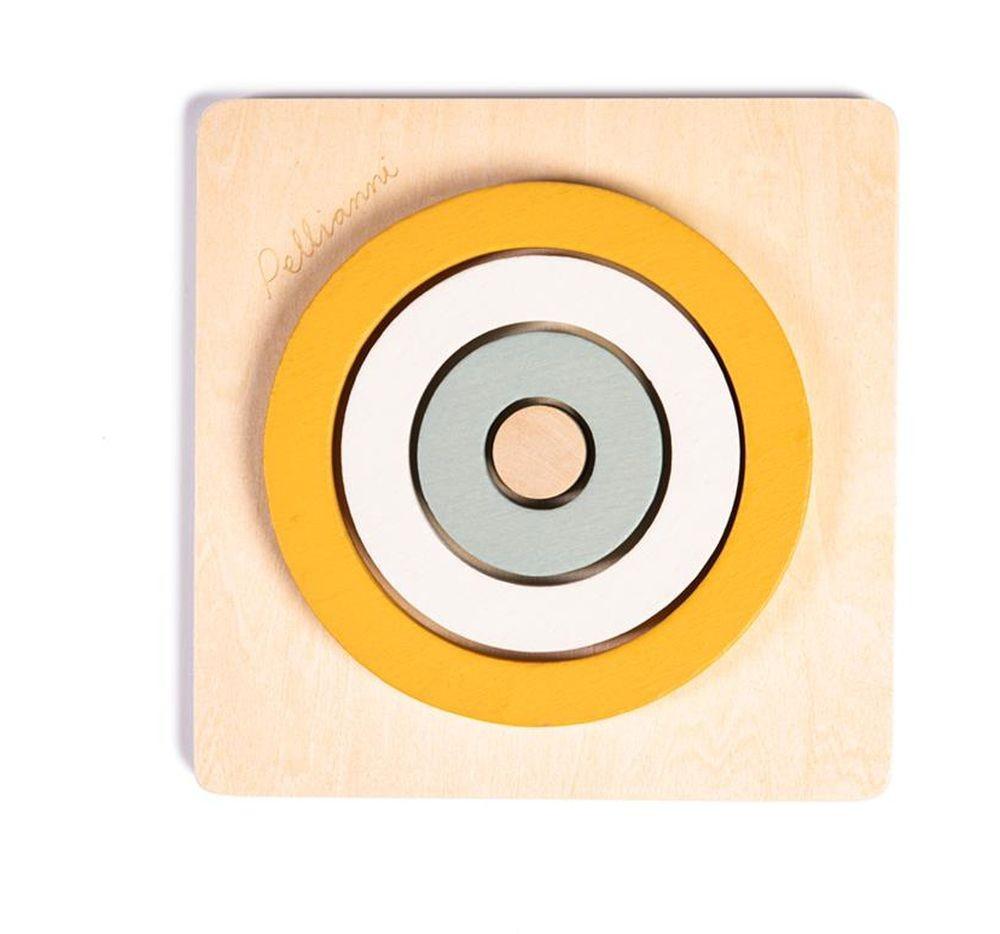 """Puzzle en bois """"3 cercles..."""