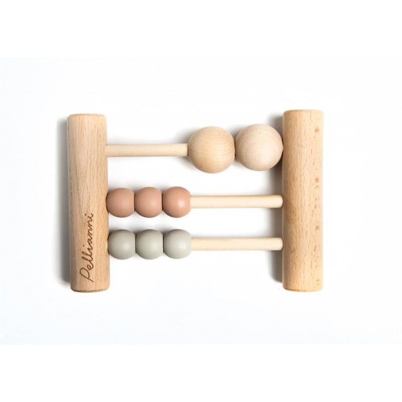 Hochet Boulier en bois