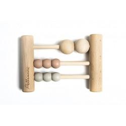 Boulier en bois- Pastel