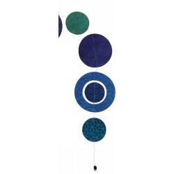 """Guirlande  'Kumiko"""" assortiments bleu/vert"""