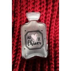 Chaufferette de poche - Au coeur de l'hiver