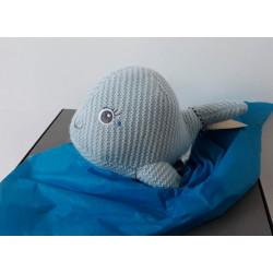 Peluche crochet Baleine