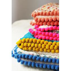 Plaid-couverture 100 % coton 'RonRon Papillon'