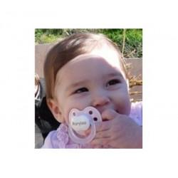 2 sucettes orthodontiques 0 à 3 mois  'Baby Nova'
