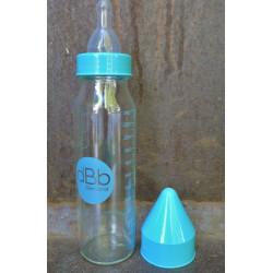Biberon verre Régul'air Tétine silicone 240 ml 0-6 mois