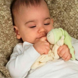 Doudou bio Zmooz vert dès la naissance