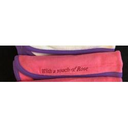 Bavoir protège épaule Coton Rose