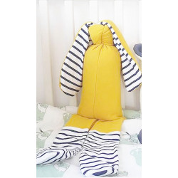 Peluche Gros Lapin jaune...