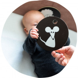 Imagier-Cartes de Contraste 3 mois +