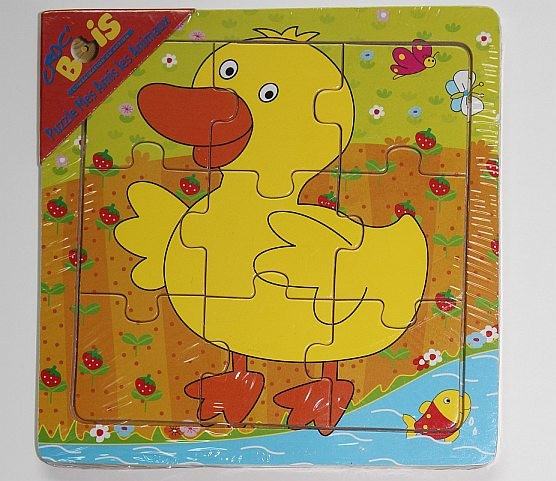 Puzzle en bois 'le canard'