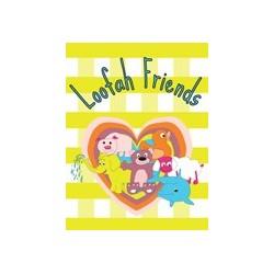 2 éponges de bain 'Loofah'