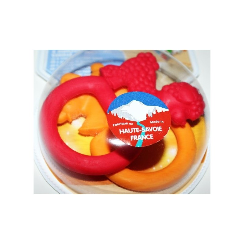 2 Anneaux de dentition colorés