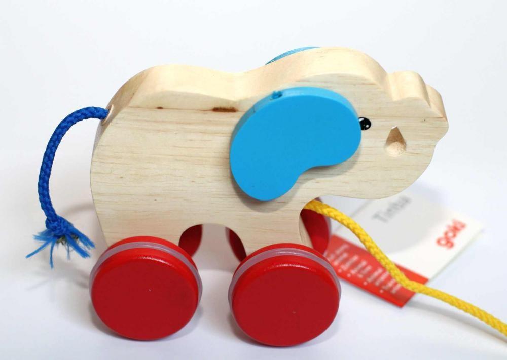 Jouet à tirer 'éléphant'