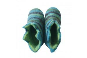 Les chaussons en laine