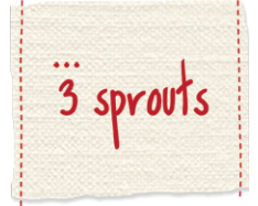 Logo 3 sprouts
