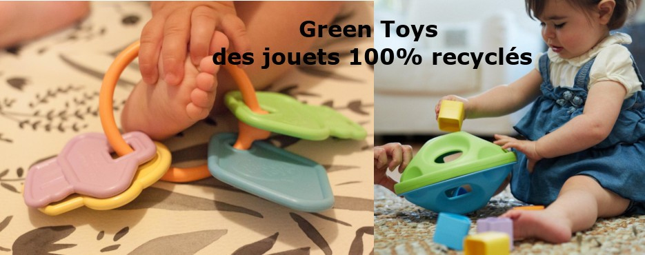 Green Toys des jouets 100% recyclés